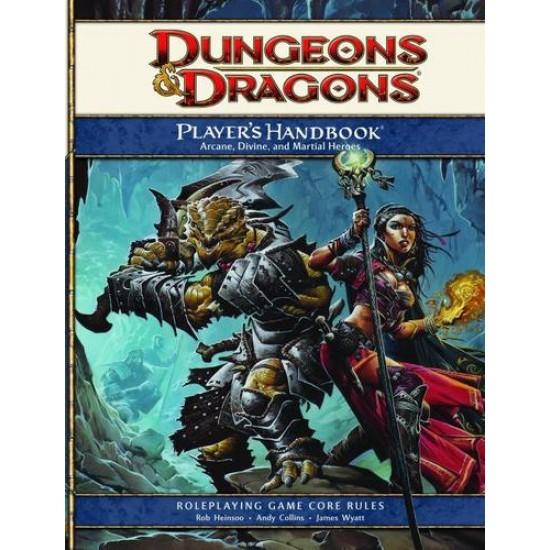 D&D 4.0 - Core Rulebook - Player's Handbook