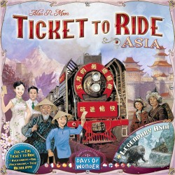 Ticket to Ride - Map Collection Asia