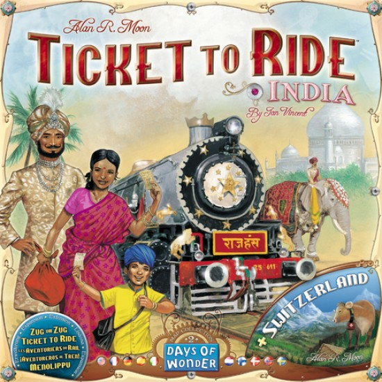 Ticket to Ride - Map Collection India