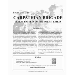 Panzer Grenadier - Carpathian Brigade
