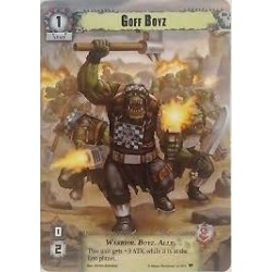 Warhammer 40K - Conquest - Goff Boyz (Alternative Art)