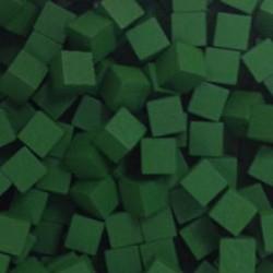 Houten Blokjes 8 mm - Green (10 pcs)
