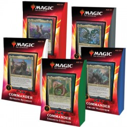 Commander 2019 - All 4 Decks