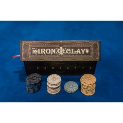 Iron Clays - Luxury Game Counters (100 pcs)