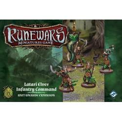 Runewars Miniatures Game - Latari Elves Infantry Command