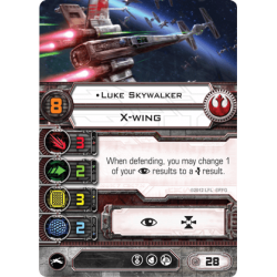 X-Wing - Luke Skywalker (Alternative Art)