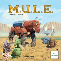 M.U.L.E. - The Board Game [Box Slightly Damaged]