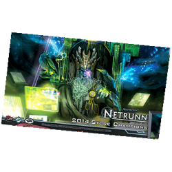 Android Netrunner LCG - Playmat 2014 Store Champion