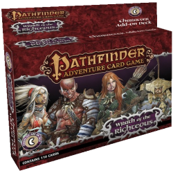 Pathfinder - Wrath of the Righteous - Character Add-on Deck
