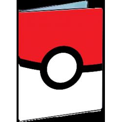 Pokemon 4 Pocket Portfolio Pokeball