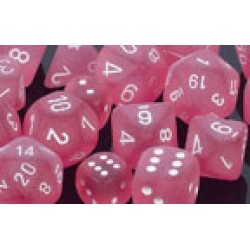 Polydice - Frosted - Pink/White