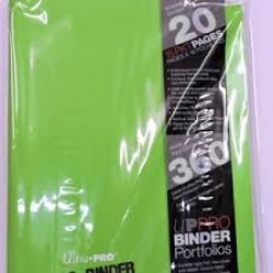 Binder Pro 9 Pocket - Light Green