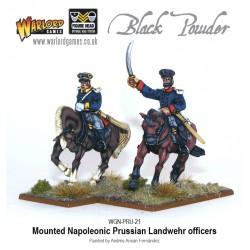 Black Powder Napoleonic - Prussian Landwehr Mounted Officers