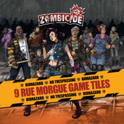Zombicide - Game Tiles Rue Morgue