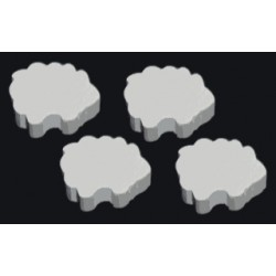 Wooden Game Pieces - Sheep (10 pcs)