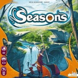 Seasons (Box back shows small imprint of smaller game]