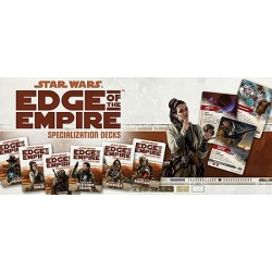 Star Wars - Edge of the Empire - Force Sensitive Exile Deck