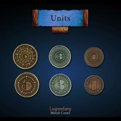 Legendary Coin Set - Units Coin Set