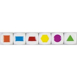 Die - Colored Shapes
