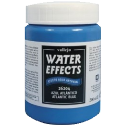 Water Texture - Atlantic Blue