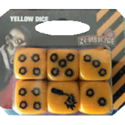 Zombicide - Additional Yellow Dice