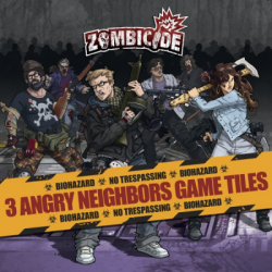 Zombicide - Extra Tegels Angry Neighbours