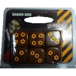 Zombicide - Additional Brown Dice