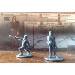 Zombicide  - Zombie Trap - Bill - Miniatures